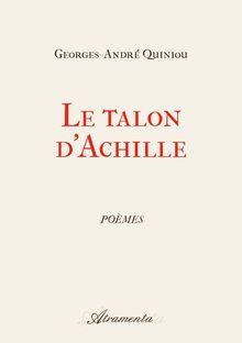 """Couverture """"Le talon d'Achille"""""""