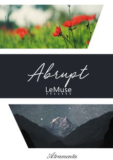 "Couverture ""Abrupt"""