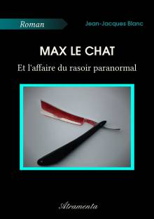 Max le chat et l'affaire du rasoir paranormal cover