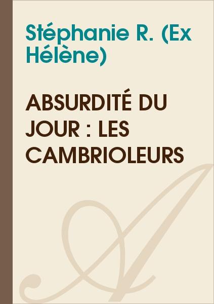 Stéphanie R. (Ex Hélène) - Absurdité du jour : les cambrioleurs