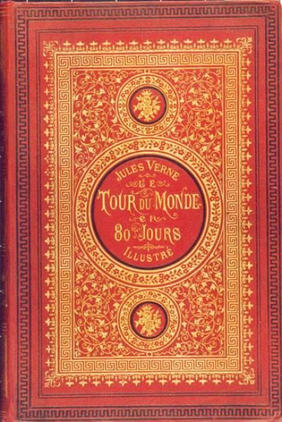 Jules Verne - LE TOUR DU MONDE EN QUATRE-VINGTS JOURS