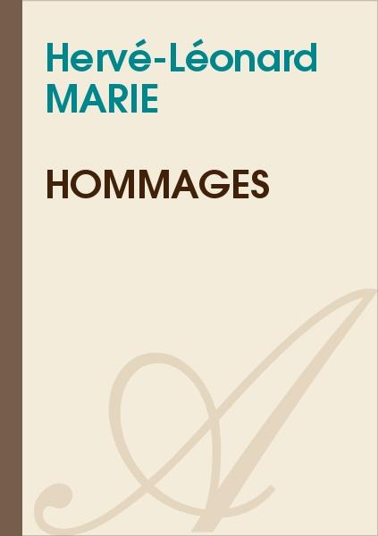 Hervé-Léonard MARIE - Hommages