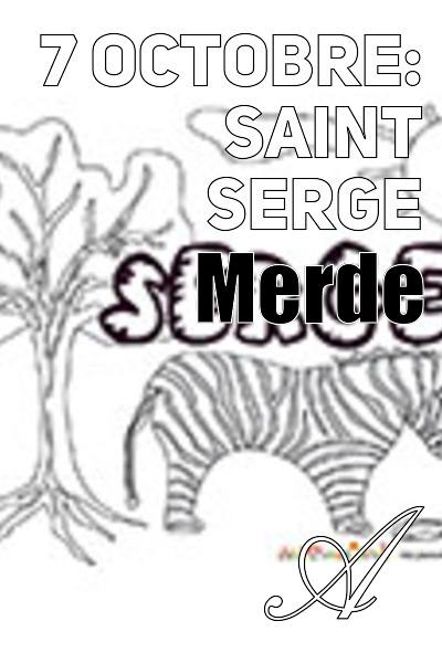 Bulb E-Traym - 7 octobre: Saint Serge