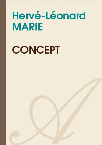 Hervé-Léonard MARIE - Concept