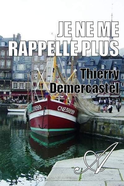 Thierry Demercastel - Je ne me rappelle plus
